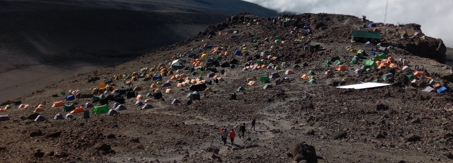 7 Days Kilimanjaro Trekking, Umbwe Route via Barafu Camp